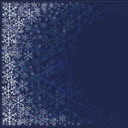 Beautiful snowflake pattern background 01 vector