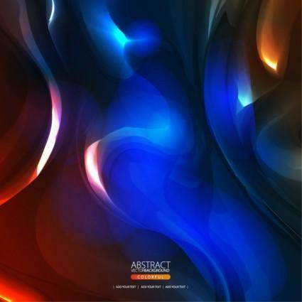 free vector Brilliant sense of science and technology background 04 vector