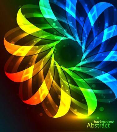 free vector Bright beautiful background of 01 vector