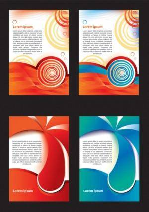 Beautiful poster design vector