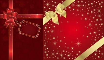 free vector Festive packaging background vector
