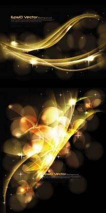 Stunning dynamic background 01 vector