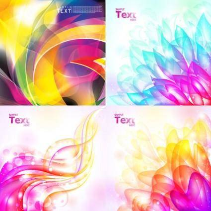 free vector Brilliant light background vector