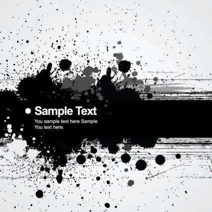 free vector Background ink splatter 01 vector