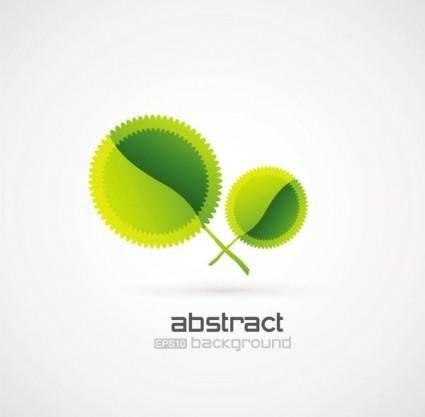 Creative green background pattern 03 vector