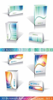 free vector Attractive business case collection vector