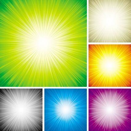Colorful light vector background