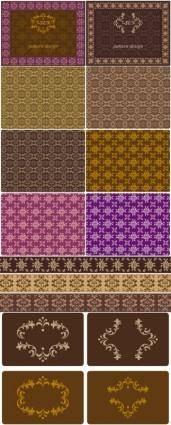 free vector Border tile pattern background vector case