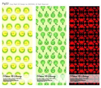 free vector Lovely background series vector 8