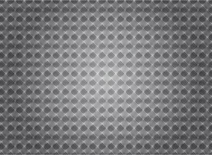 free vector Vector metal background