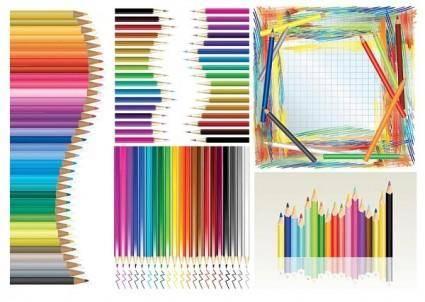 Color pencil vector 1622