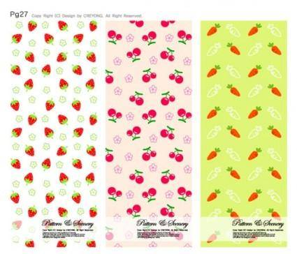 free vector Lovely background series vector 13