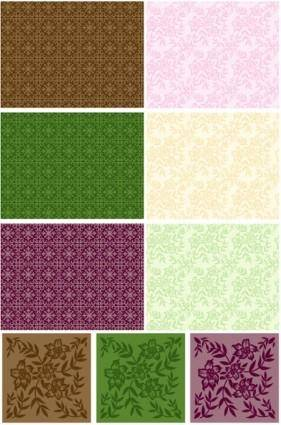 Tile pattern background vector case