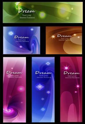 Vector background dream star