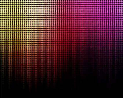 free vector Brilliant neon color background image 07 vector