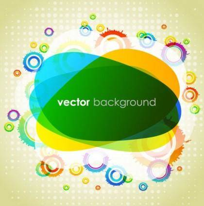 free vector Colorful vector background 3