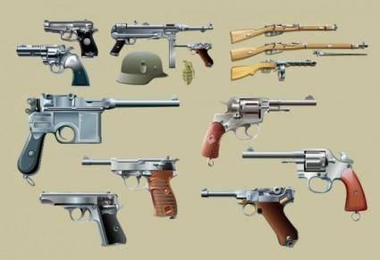 Vector guns