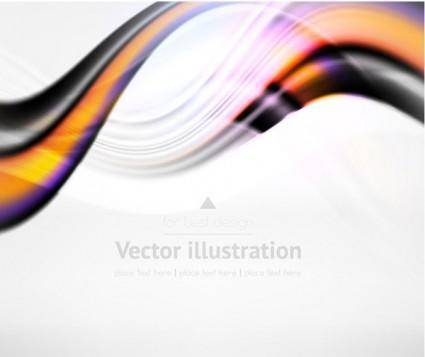 free vector Dynamic lines of the background vector 2