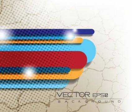 free vector Vector dot background color of the