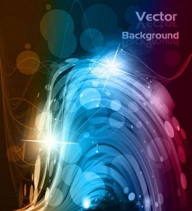 free vector Vector dynamic background 3 glare