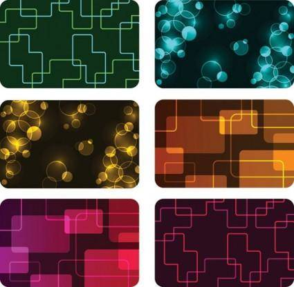 free vector Symphony card background vector