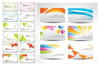 Card background vector fashion