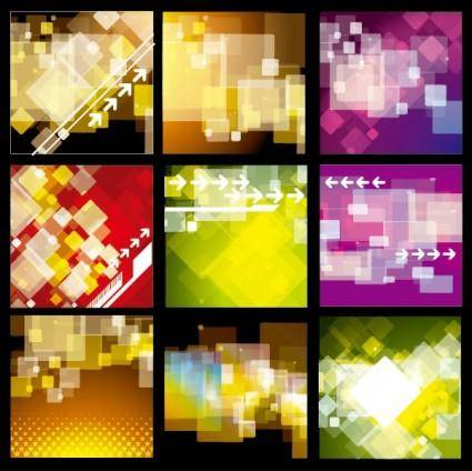 free vector Several practical background vector