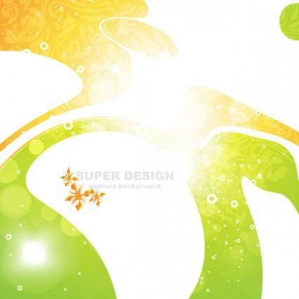 free vector Symphony of the shape vector background 1