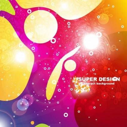 free vector Symphony of the shape vector background 3