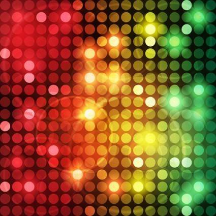 free vector Symphony of light vector dot background