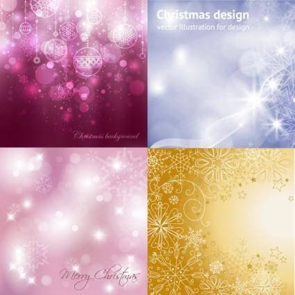 free vector Dream christmas background