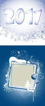 free vector 2011 christmas snowflake background vector