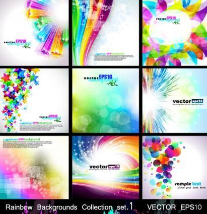 free vector Fashion background vector 2 glare symphony