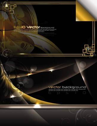 Stunning dynamic background 02 vector