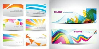 Background color of the card vector fashion