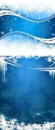 Fresh snow background vector