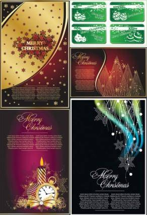 free vector Classic christmas background vector