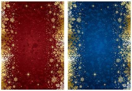 free vector Exquisite christmas background vector
