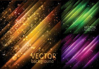 Cosmic background vector 2 star