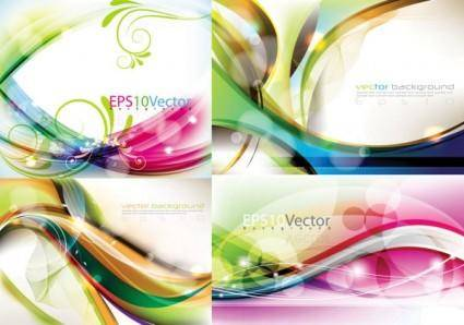 Vector dynamic background beautifully 1 symphony