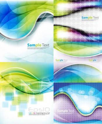 Beautiful dynamic background vector 2 symphony