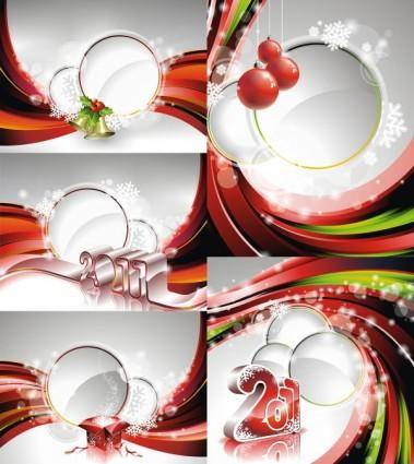 2011 new year background image vector