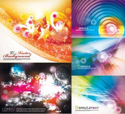 free vector Colorful vector background dream