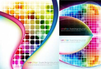 free vector Symphony checkered background vector