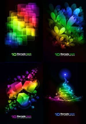 4 symphony of the background vector