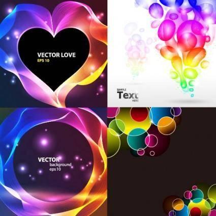 4glare background vector