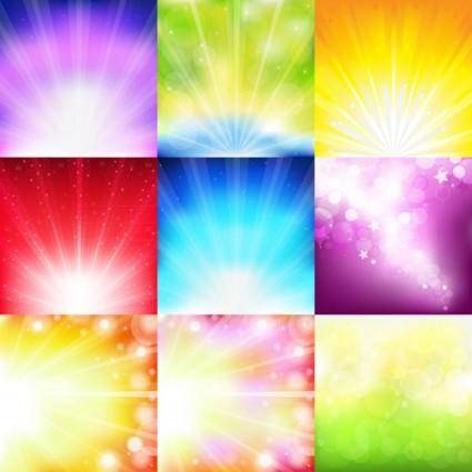 free vector Multicolor light background theme vector