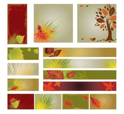 free vector The fall of the flag background vector