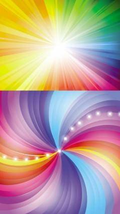 free vector Radiation background vector