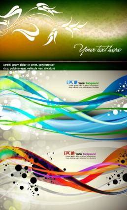 free vector Shine vector background